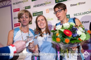 RESEARCHRUN™ 2015 - Drink en prijsuitreiking